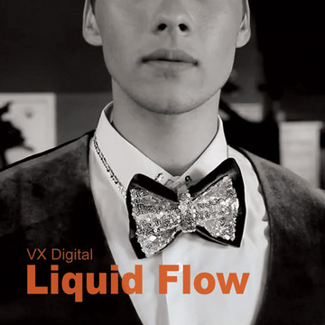Liquid Flow /  High Quality 1280 × 720 Mp4 Video Clip by VX Digital Productions 2019