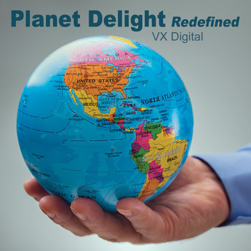Planet delight-Redefined /  High Quality 1280 × 720 Mp4 Video Clip by VX Digital Productions 2019