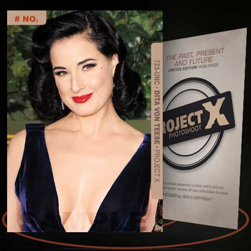 Dita Von Teese [ # 723-UNC ] PROJECT X Numbered cards / Limited Edition