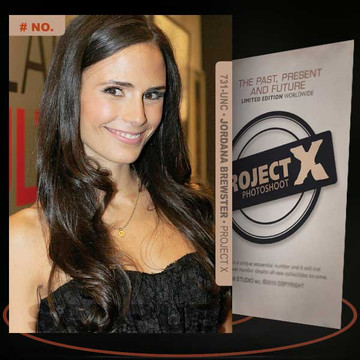 Jordana Brewster [ # 731-UNC ] PROJECT X Numbered cards / Limited Edition