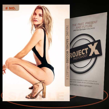 Rachel McCord [ # 743-UNC ] PROJECT X Numbered cards / Limited Edition