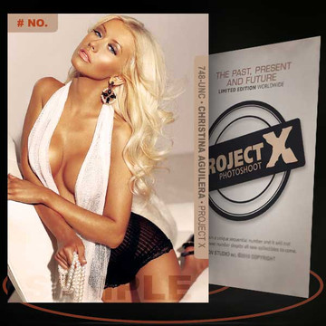 Christina Aguilera [ # 748-UNC ] PROJECT X Numbered cards / Limited Edition