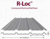 R-Loc Commercial Roof and Wall Panel