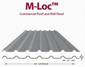 M- Loc Commercial Roff and Wall Panel