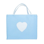 Baby Blue Heart Gift Bag