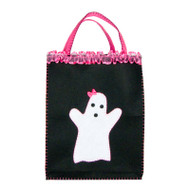 Girly Ghost Xlarge Trick-or-Treat Bag