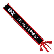 "Pirate Kidd ""It's my birthday"" Sash"