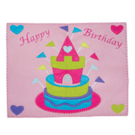 Queen Guinevere's Happy Birthday Placemat