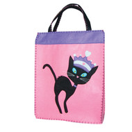 Friday the Princess Cat XL Trick or Treat Bag