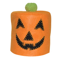 Jack O' Lantern Toilet Paper Roll Cover