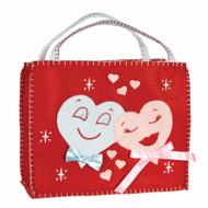 2 Retro Hearts Gift Bag