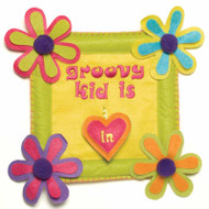 Groovy Kid Door Sign