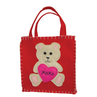 Valentine Teddy Bear Gift Bag