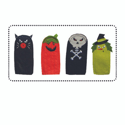 Great for Halloween Give Aways!  WARNING: CHOKING HAZARD – Small parts. Not for children under 3 years. Felt Made in China