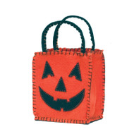 Medium Jack  O'Lantern Trick or Treat Bag