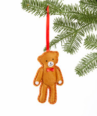 Felt Teddy Bear Ornament