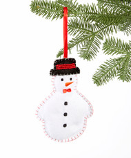 Large Snowman Ornament