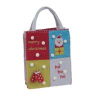 Christmas Squares Gift Bag