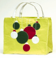 Lime Ornaments Tote Gift Bag
