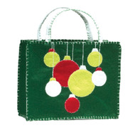 Green Ornaments Tote Gift Bag