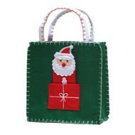 Santa Finger Puppet Gift Bag