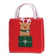 Reindeer Finger Puppet Gift Bag