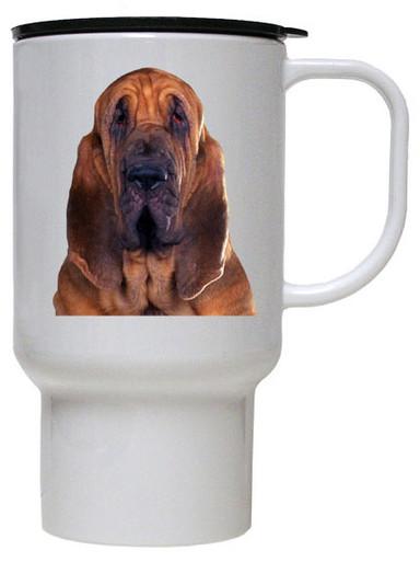 Bloodhound Polymer Plastic Travel Mug