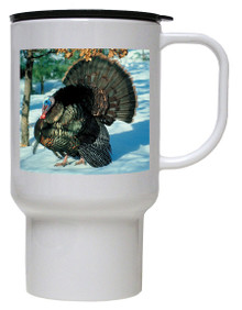 Turkey Polymer Plastic Travel Mug