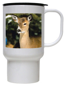 Deer Polymer Plastic Travel Mug