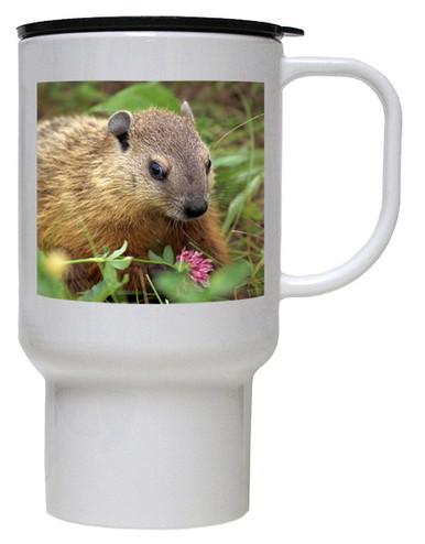 Groundhog Polymer Plastic Travel Mug