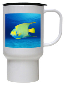 Angelfish Polymer Plastic Travel Mug