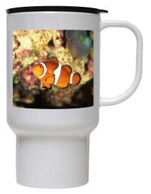 Clownfish Polymer Plastic Travel Mug