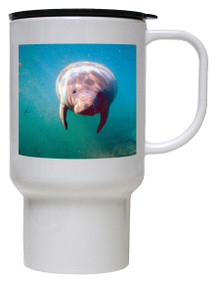 Manatee Polymer Plastic Travel Mug