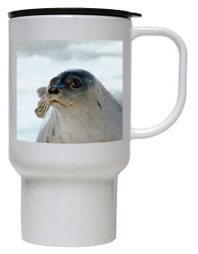 Seal Polymer Plastic Travel Mug