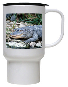 Alligator Polymer Plastic Travel Mug