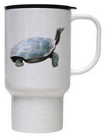 Turtle Polymer Plastic Travel Mug