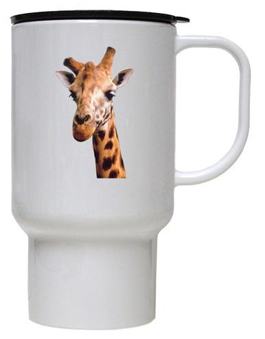 Giraffe Polymer Plastic Travel Mug