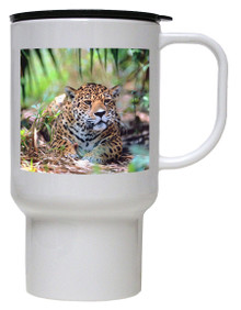Jaguar Polymer Plastic Travel Mug