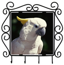 Cockatoo Metal Key Holder