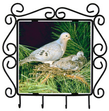 Dove Metal Key Holder