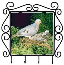 Dove Metal Key Holder