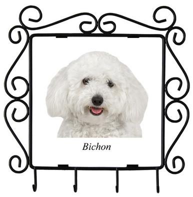 Bichon Metal Key Holder