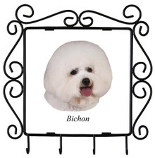 Bichon Metal Key Holder