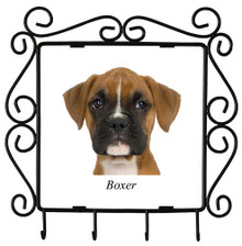 Boxer Metal Key Holder