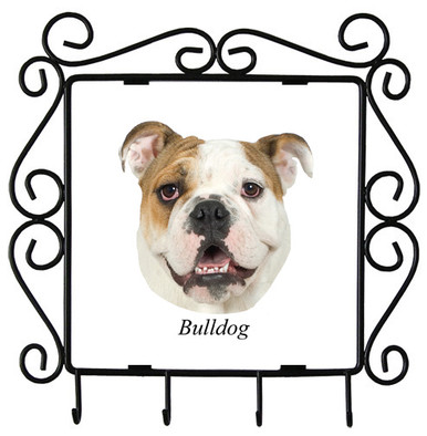 Bulldog Metal Key Holder