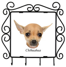 Chihuahua Metal Key Holder