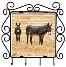 Donkey Metal Key Holder