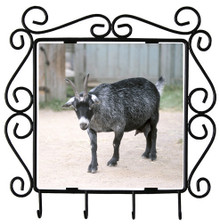 Goat Metal Key Holder