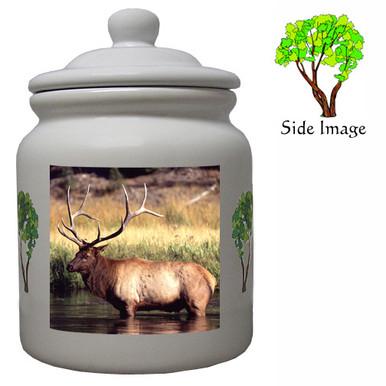 Elk Ceramic Color Cookie Jar