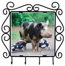 Pig Metal Key Holder